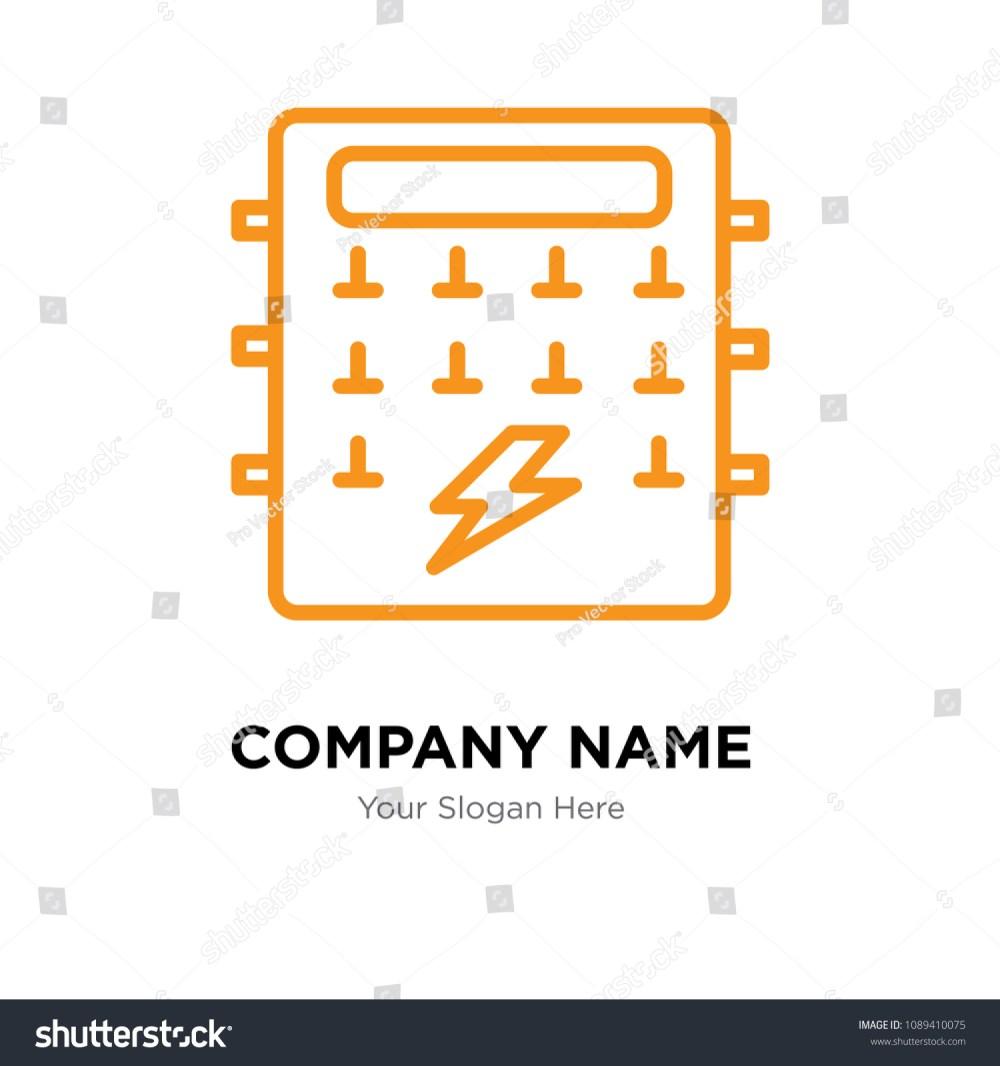 medium resolution of fuse box company logo design template business corporate vector icon fuse box symbol