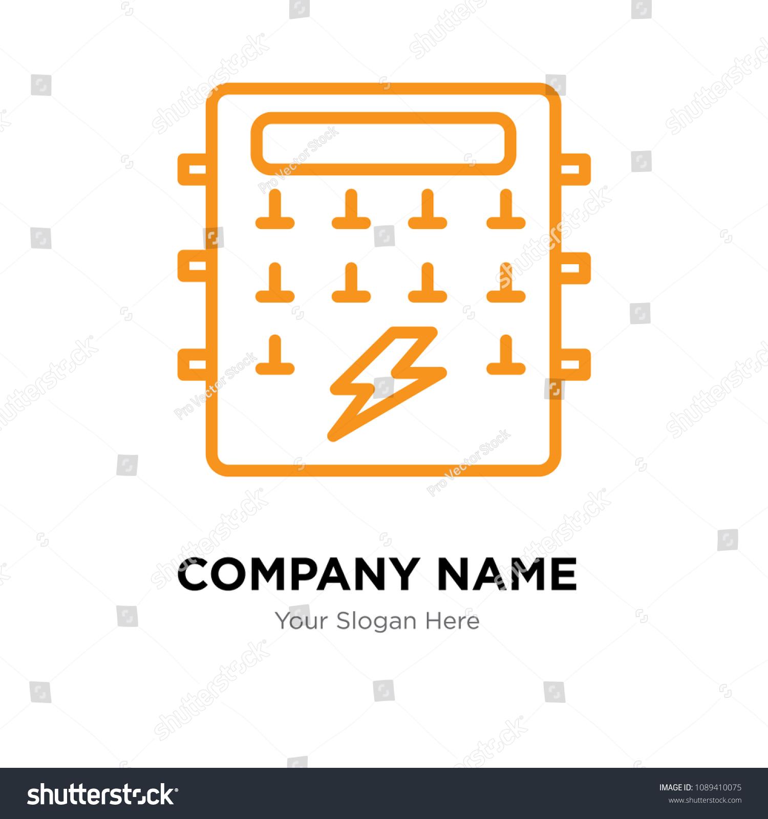 hight resolution of fuse box company logo design template business corporate vector icon fuse box symbol