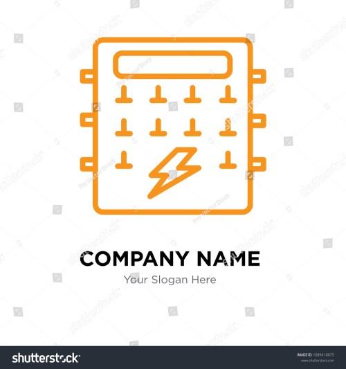 small resolution of fuse box company logo design template business corporate vector icon fuse box symbol
