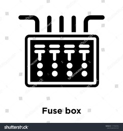 fuse box icon vector isolated on white background logo concept of fuse box sign on [ 1500 x 1600 Pixel ]
