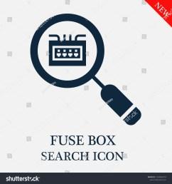 fuse box search icon editable fuse box search icon for web or mobile  [ 1500 x 1600 Pixel ]