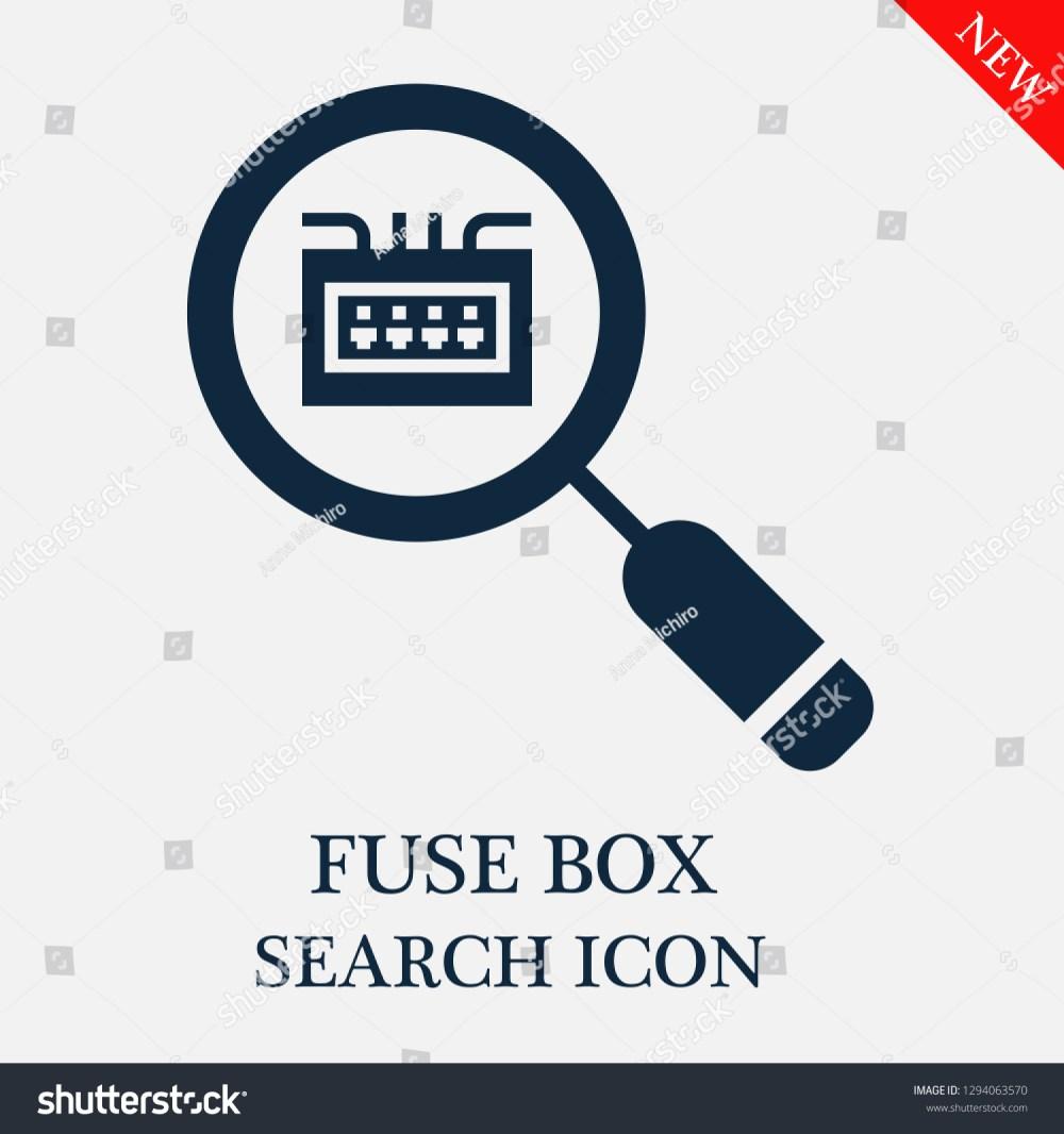 medium resolution of fuse box search icon editable fuse box search icon for web or mobile
