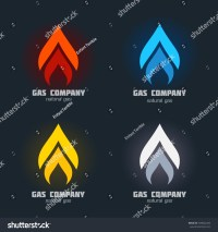 Gas Supplies Heating Fire Alarm Systems Stock Vector