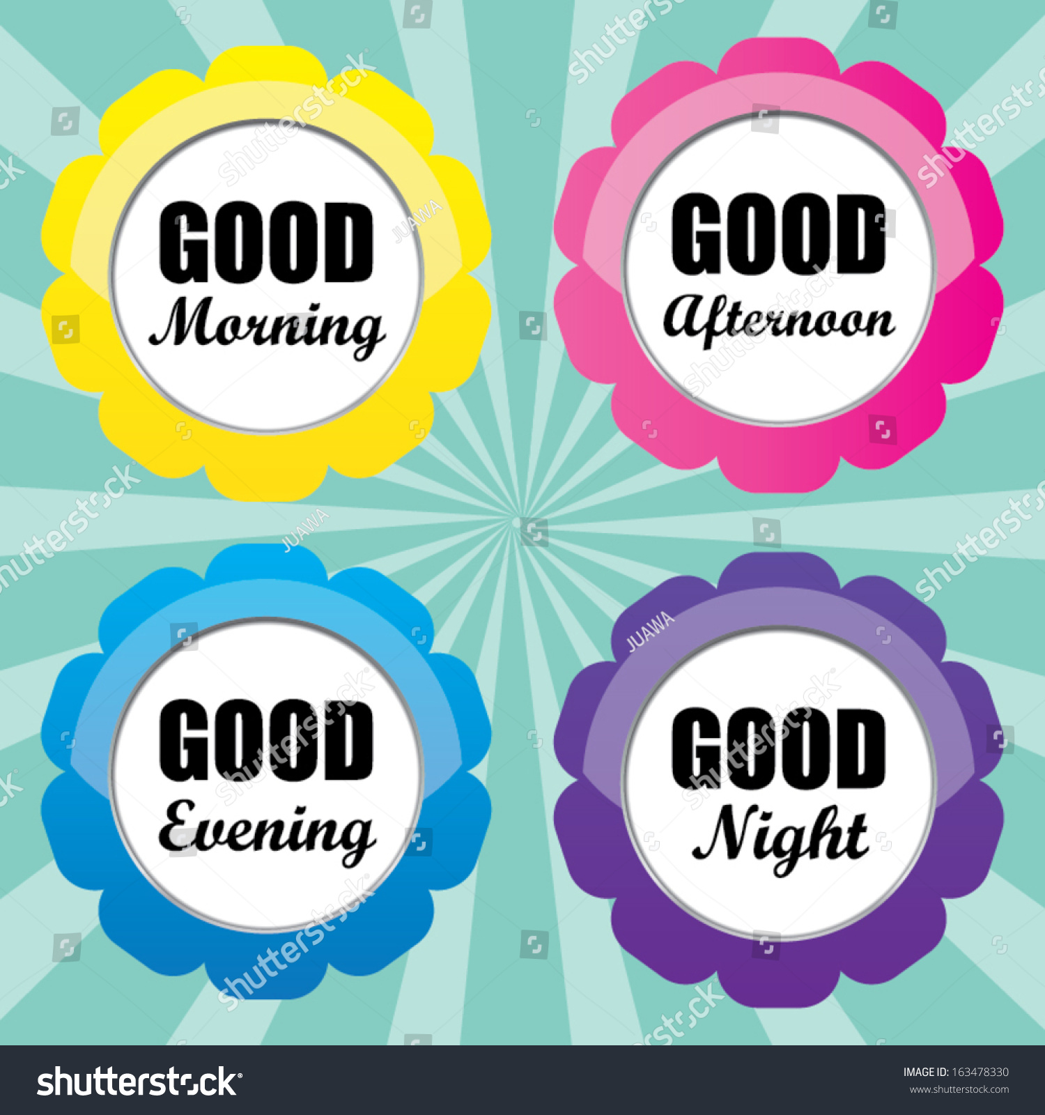 Good Morning Good Afternoon Good Evening Good Night