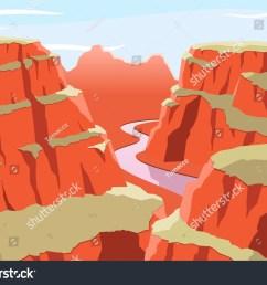 grand canyon national park arizona united states colorado plateau seven natural wonders vector illustration cartoon  [ 1500 x 1167 Pixel ]
