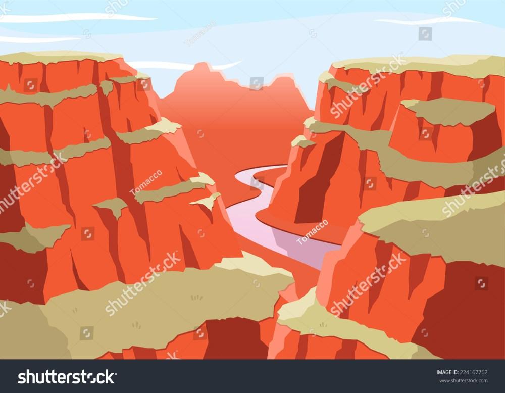 medium resolution of grand canyon national park arizona united states colorado plateau seven natural wonders vector illustration cartoon