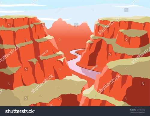 small resolution of grand canyon national park arizona united states colorado plateau seven natural wonders vector illustration cartoon