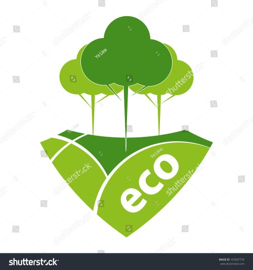 small resolution of green eco reforestation concept green forest and pasture