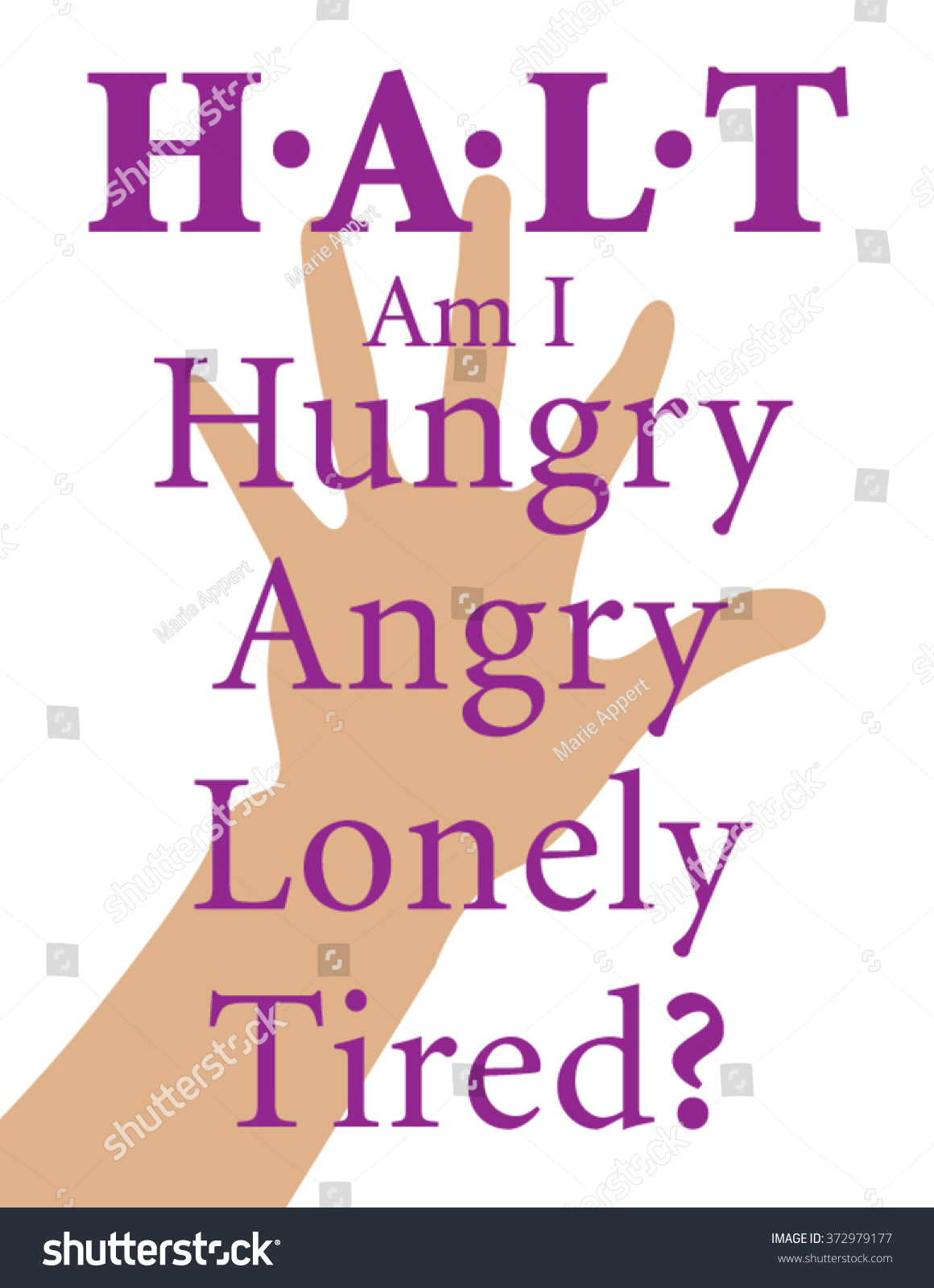 H A L T Is An Acronym For Hungry Angry Lonely Tired