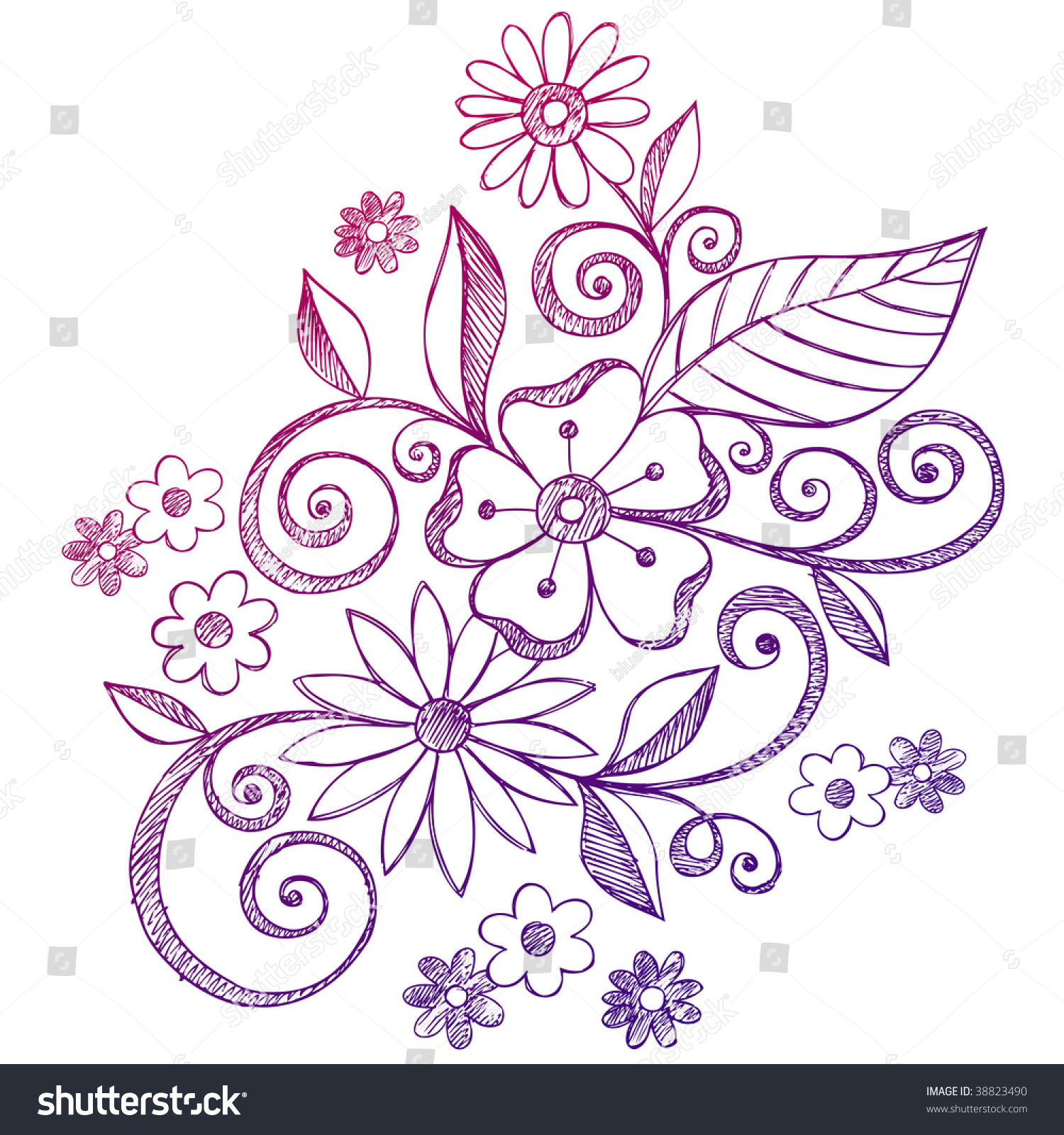 Easy Drawings Of Flowers And Vines Vine Tattoos Designs Ideas And