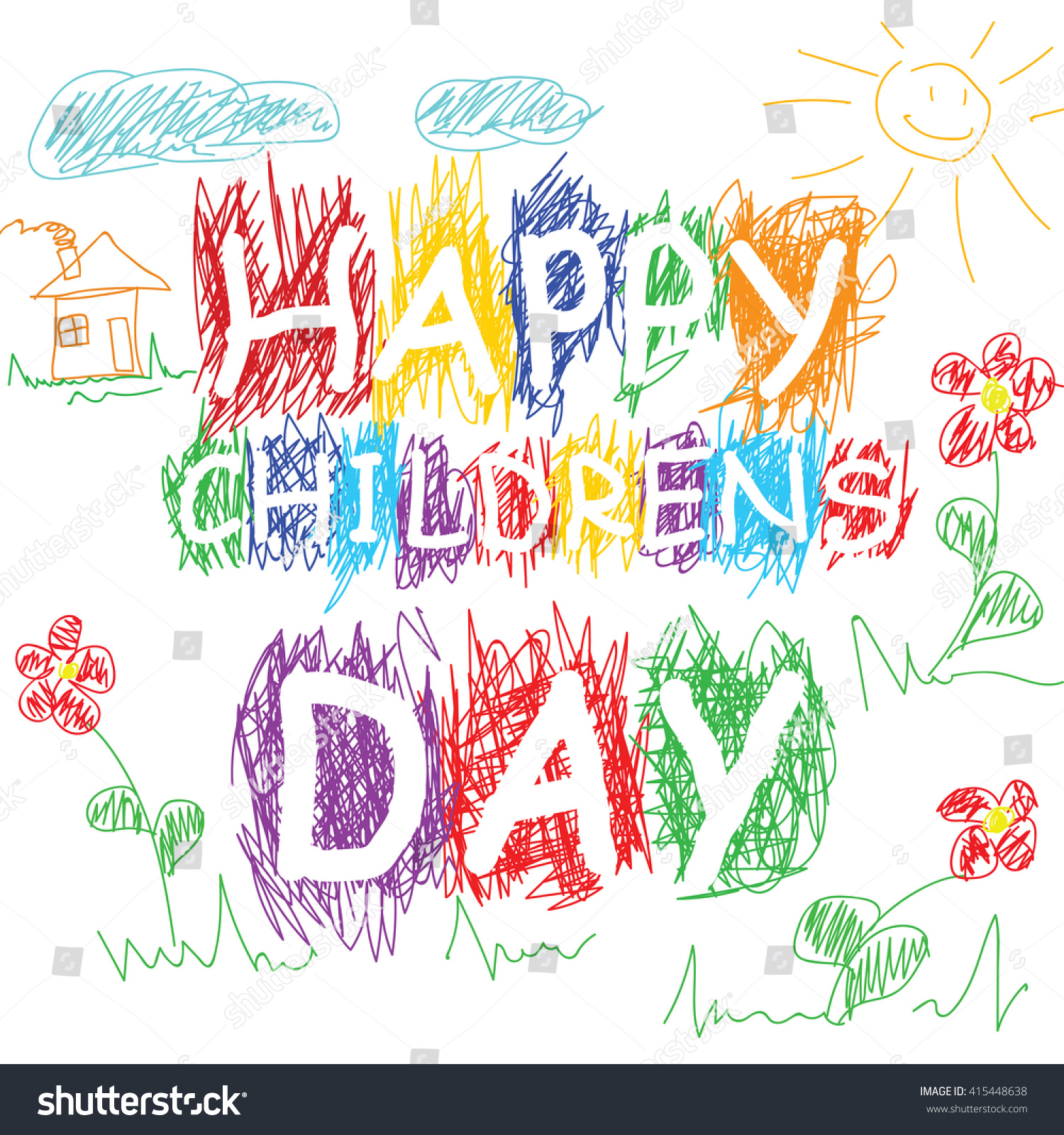 Drawings For Childrens Day