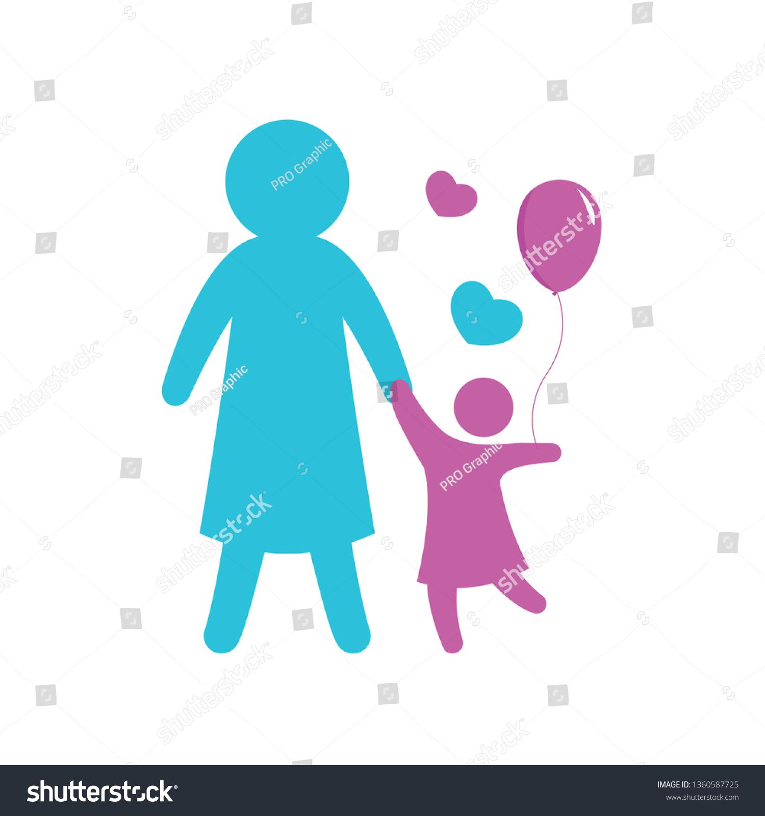 happy family simple figures