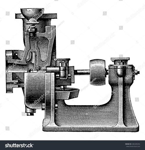 small resolution of heart centrifugal pump vintage engraved illustration industrial encyclopedia e o lami 1875
