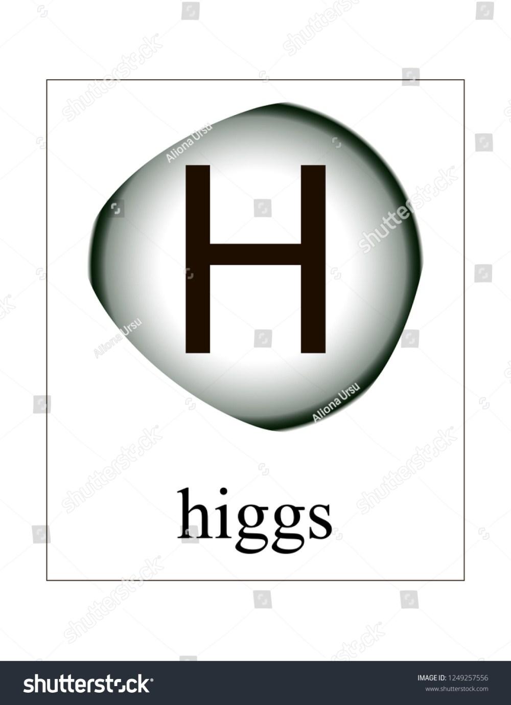 medium resolution of higgs boson vector illustration quantum mechanics elementary particles