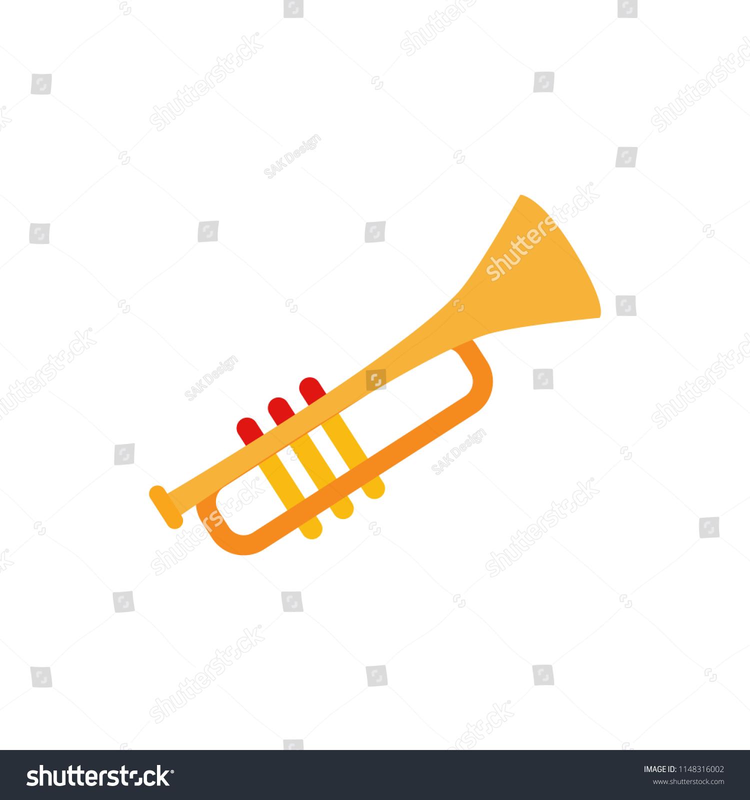 hight resolution of horn music entertainment logo icon design