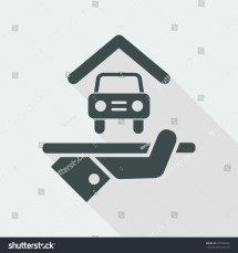 Hotel Icon Car Parking Stock Vector 573796252 - Shutterstock