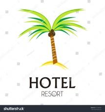 Coconut Tree Logo Design - Kid