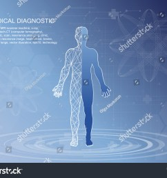human body health care with medical icons organs charts diagrams and copy space  [ 1500 x 1171 Pixel ]