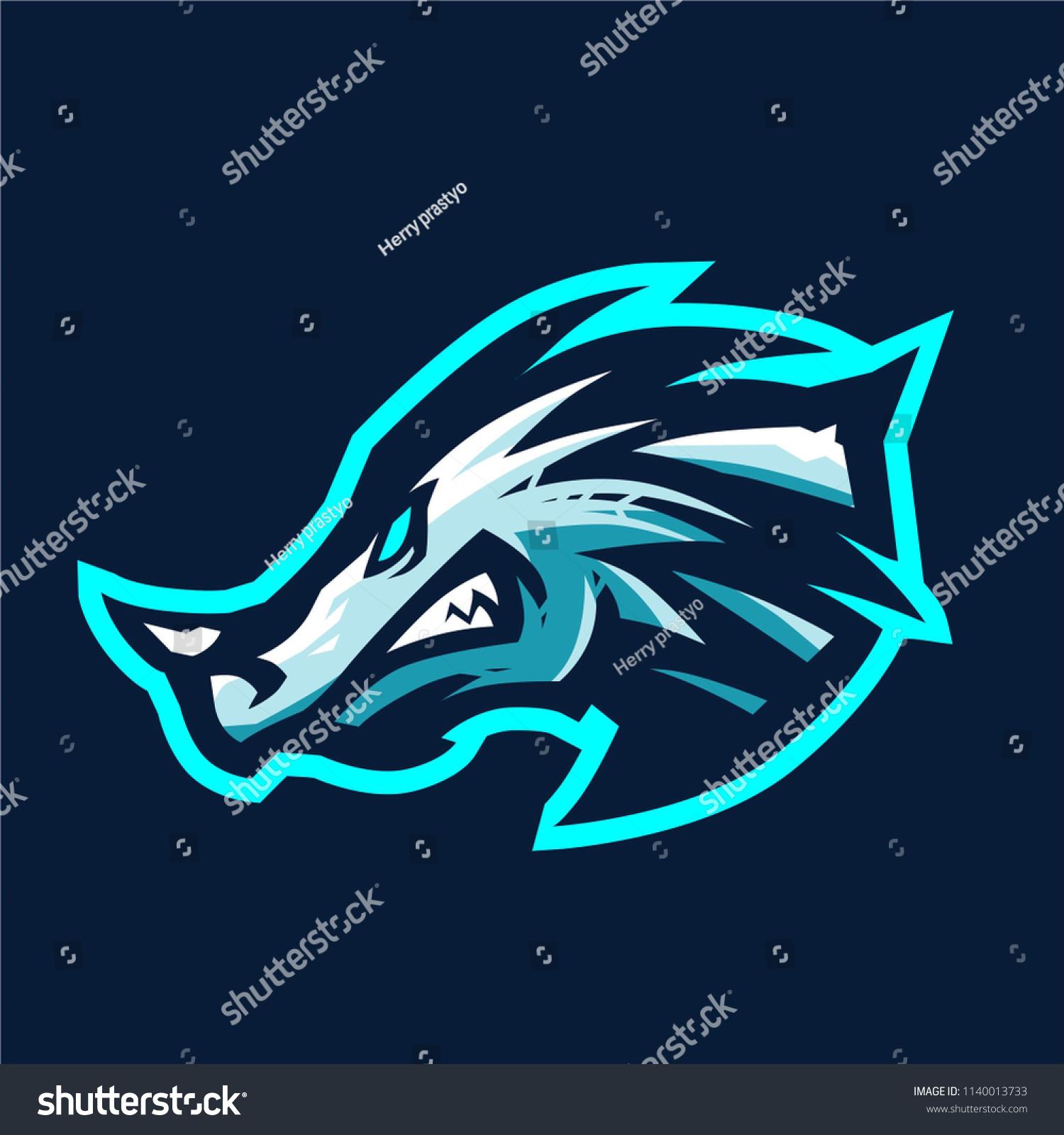 ice dragon esport logo