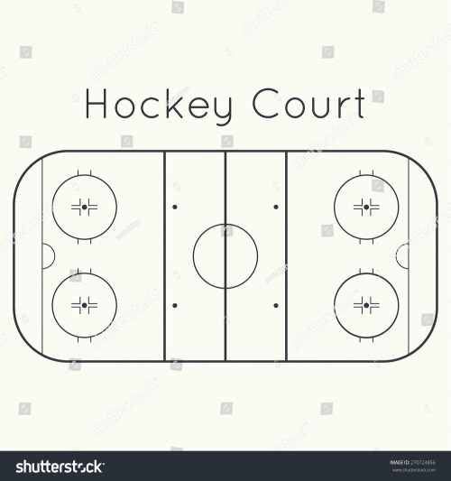 small resolution of ice hockey rink on a white top view board to parse the tactics of attack