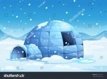 Illustration Icy Igloo Stock Vector 104516171 - Shutterstock