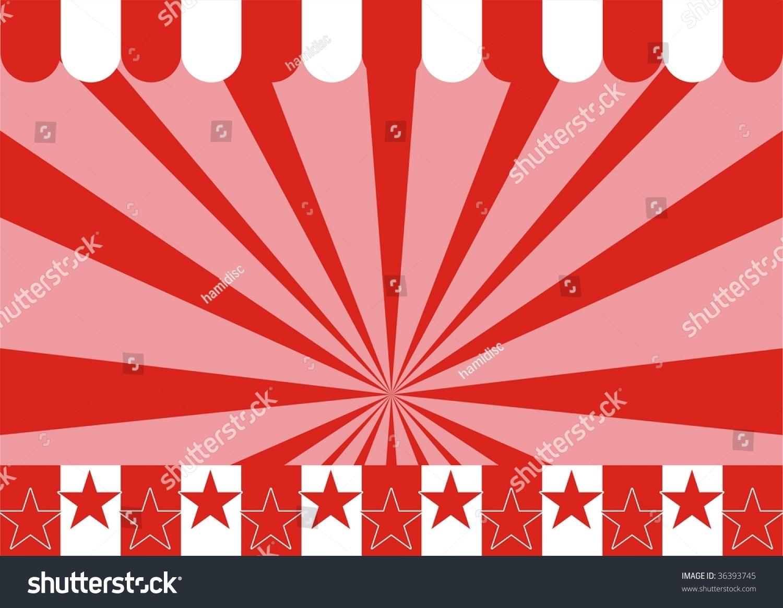 Illustration Carnival Background Stripes Stars Ideal Stock