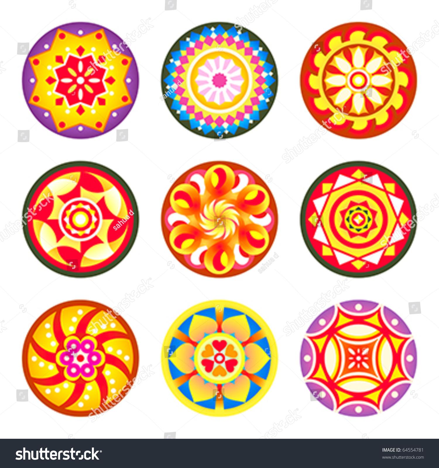 Indian Flower Designs