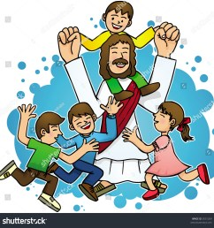 jesus love children [ 1500 x 1521 Pixel ]