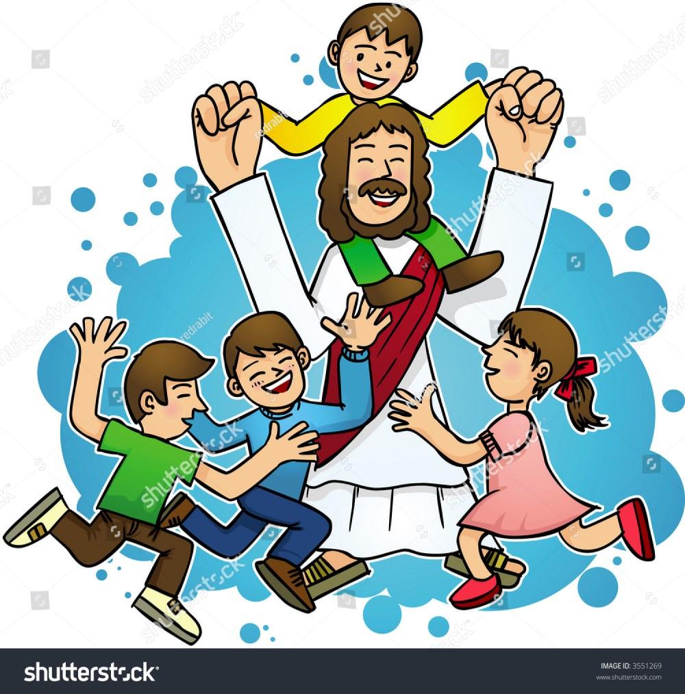 medium resolution of jesus love children