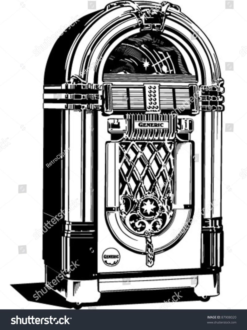 medium resolution of jukebox 1 retro clipart illustration