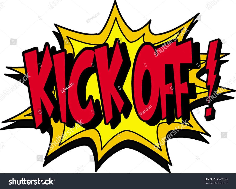 Kick Off Stock Vector Illustration 93606646 : Shutterstock