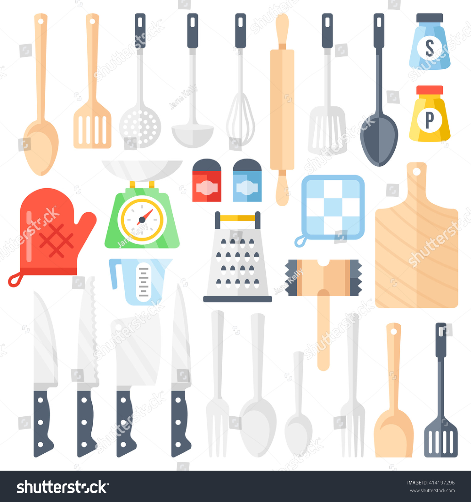 Kitchen Tools Cooking Equipment Kitchen Utensils Set