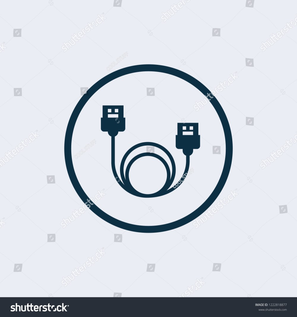 medium resolution of lan cable network internet icon vector ethernet connector with cable symbol wire cable computer icon ethernet cable icon