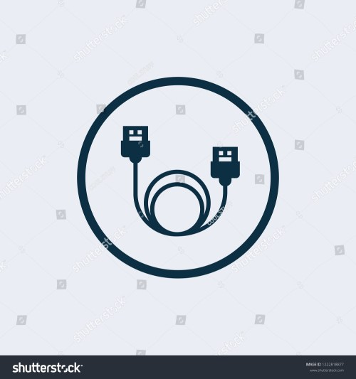 small resolution of lan cable network internet icon vector ethernet connector with cable symbol wire cable computer icon ethernet cable icon