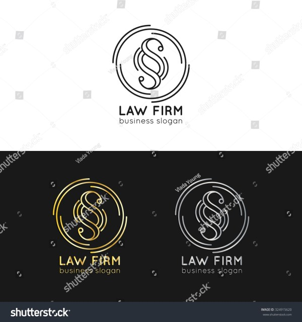 Vintage Law Firm Logo Template - Year of Clean Water