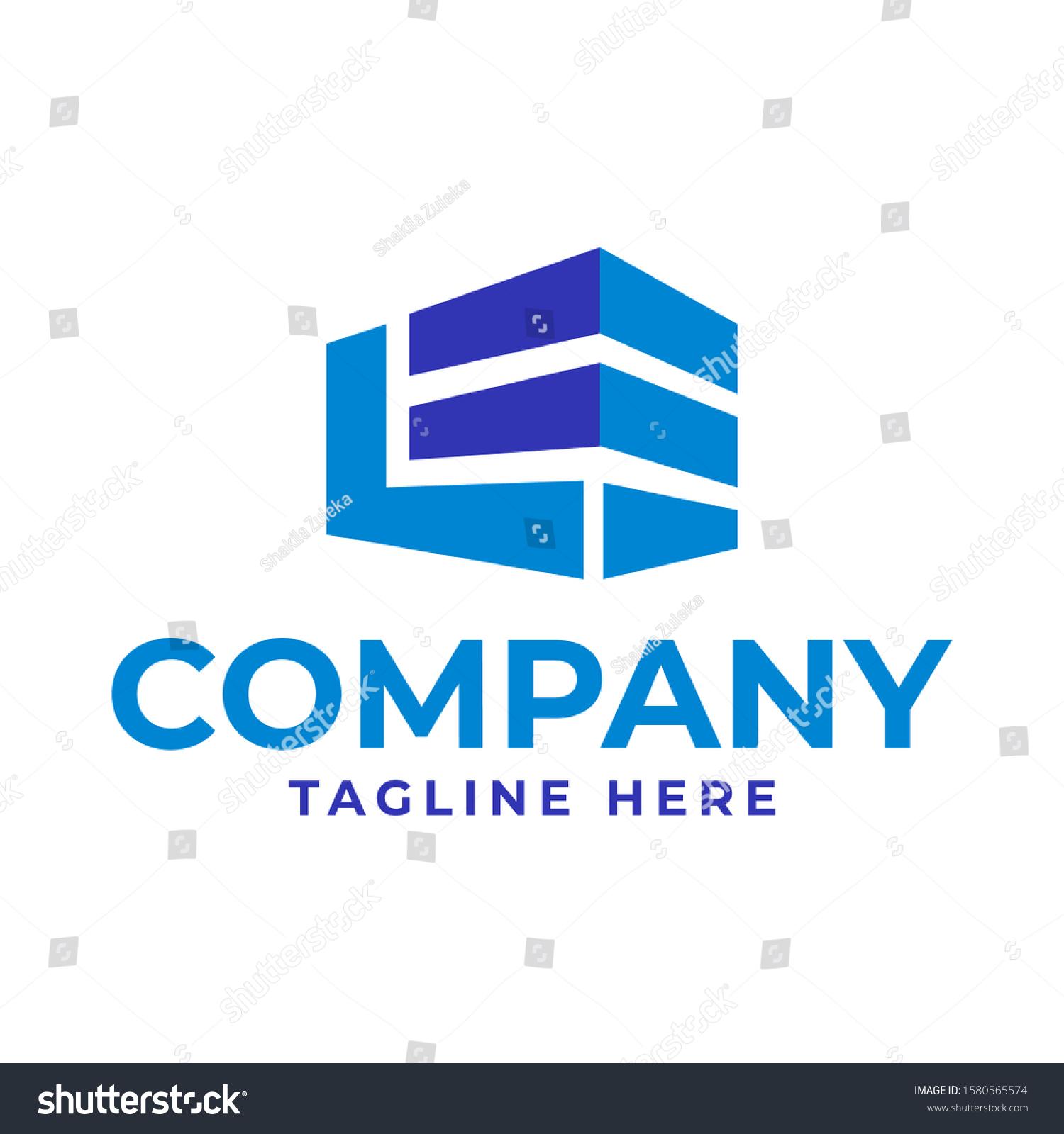 https www shutterstock com image vector le building logo design 1580565574