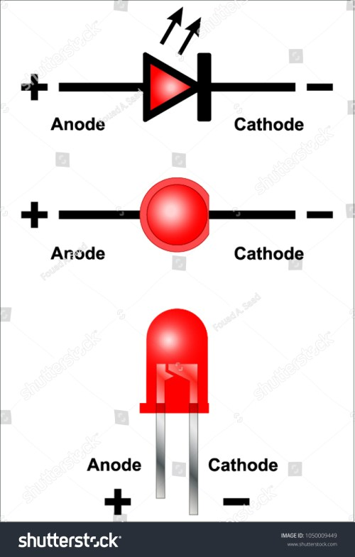 small resolution of led light emitting diode circuit diagram