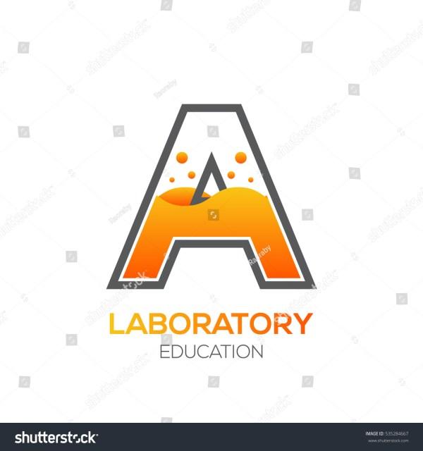 Letter Orange Colorscience Educationlaboratorychemical