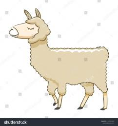 llama clipart cartoon [ 1500 x 1600 Pixel ]