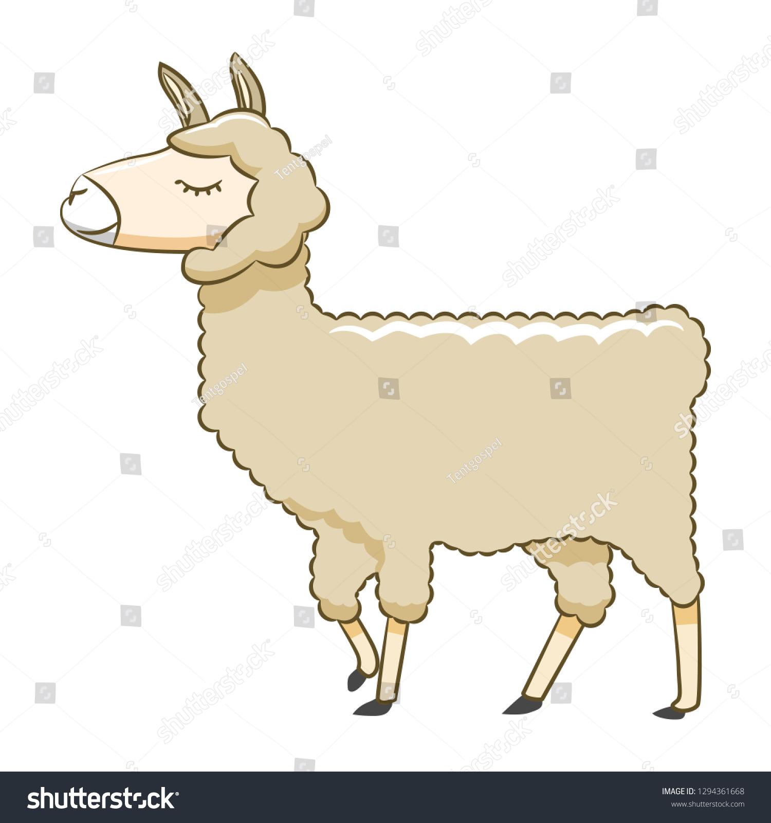 hight resolution of llama clipart cartoon