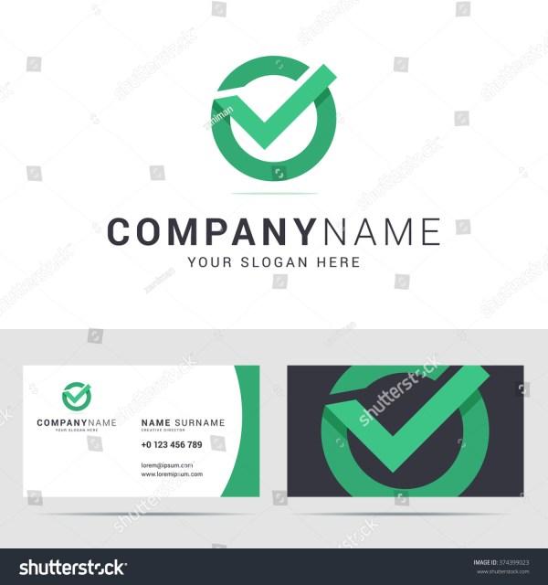 Business Checks with Company Logo