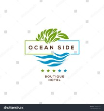 Resort Hotel Logo Design