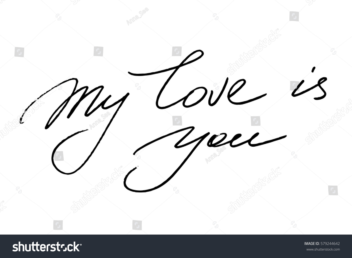 I Love You Handwriting Worksheet