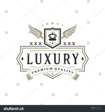 Luxury Logo Template Vector Object Logotype Stock