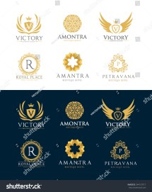 Boutique Luxury Hotel Logos