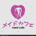 Vector De Stock Libre De Regalias Sobre Maid Cafe Logo Vector Illustration Japanese649721626