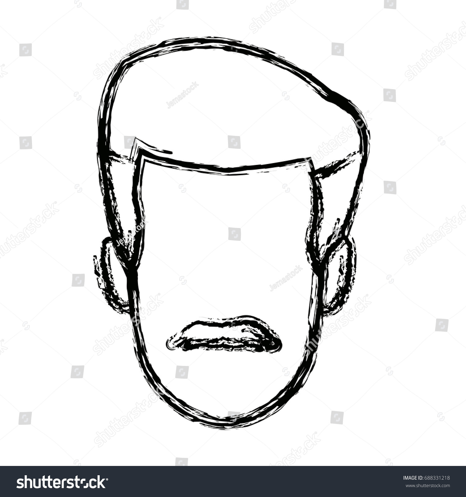 hight resolution of man employee face person character work