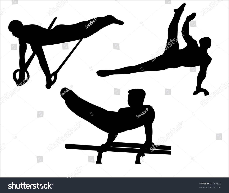 Bars Art Clip Gymnastics