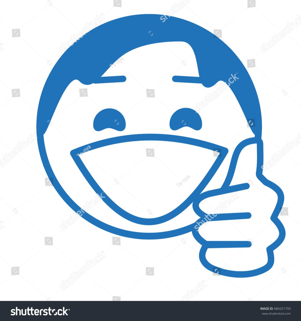 medium resolution of man with a thumb up gesture you re awesome facial expression like or plus one hundred social networks emoticon circle or ball shaped emoji