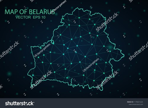 small resolution of map belarus wire frame 3d mesh polygonal network line design sphere belarus map